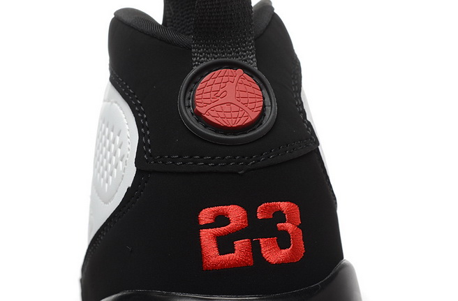 Air Jordan 9 Retro Shoes White/Black