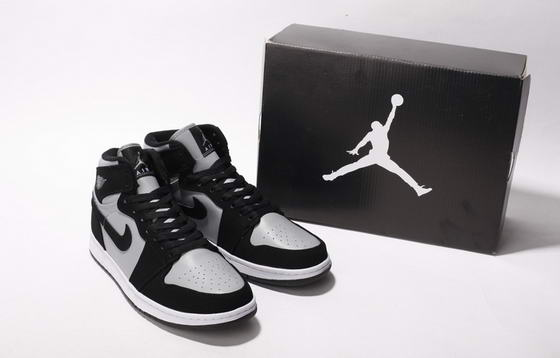 Air Jordan I New Shoes Black/Dark gray