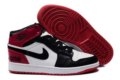 Air Jordan I Shoes Red/White/Black
