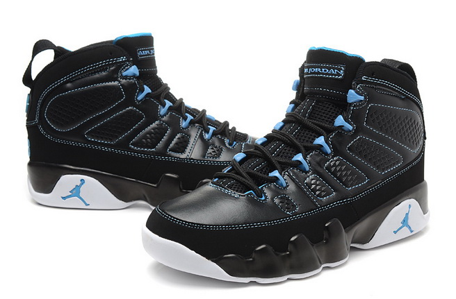 Air Jordan IX Shoes Black/Blue