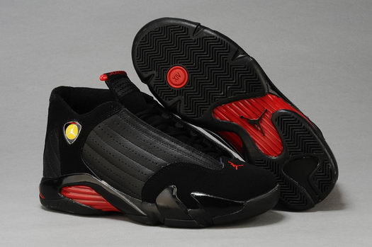 Air Jordan 14 Shoes Black/Red