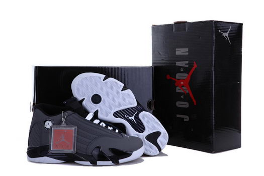Air Jordan 14 Shoes Dark gray
