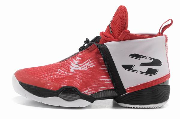 Air Jordan 28 Shoes Red/White/Black