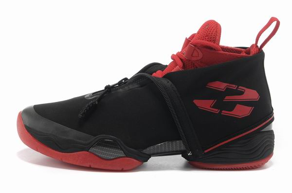 Air Jordan 28 Shoes Black/Red