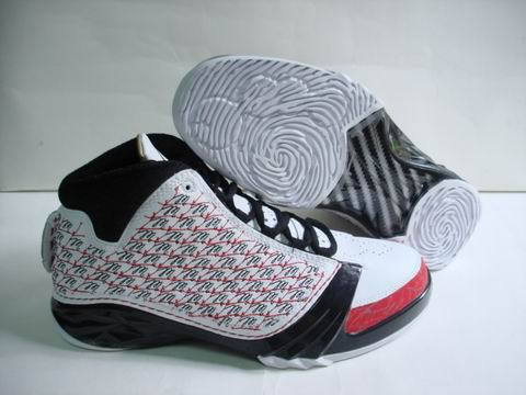 Air Jordan 23 Shoes Red/White/Black