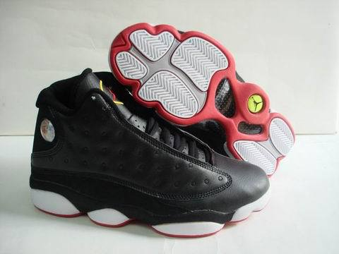 Air jordan 13 Retro Shoes Black