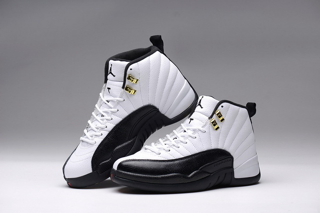 Air Jordan 12 (XII) Taxi Shoes White/Black