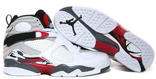 Air Jordan 8 Retro Shoes Red/White/Blue