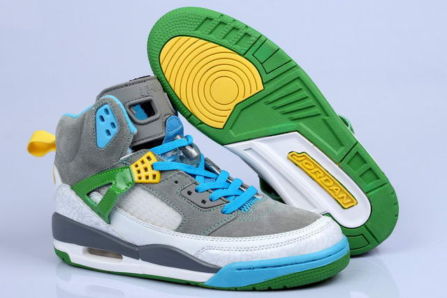 Jordan 3.5 Spizike Retro New Shoes Green/Blue/Dark gray