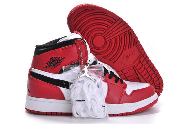 Air Jordan 1 Retro Shoes Red/Black/White