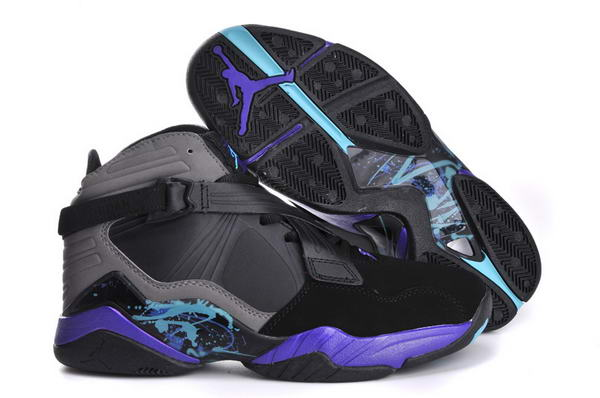 Air Jordan 8 VIII Retro Shoes black/gamma blue