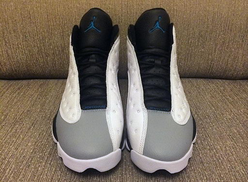 Air Jordan 13 Barons Shoes Barons White/Black Wolf Grey