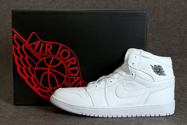 Air Jordan 1 Mid Shoes White/Cool Grey