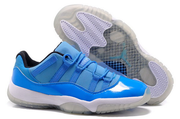 Air Jordan 11 Retro Shoes Blue/white