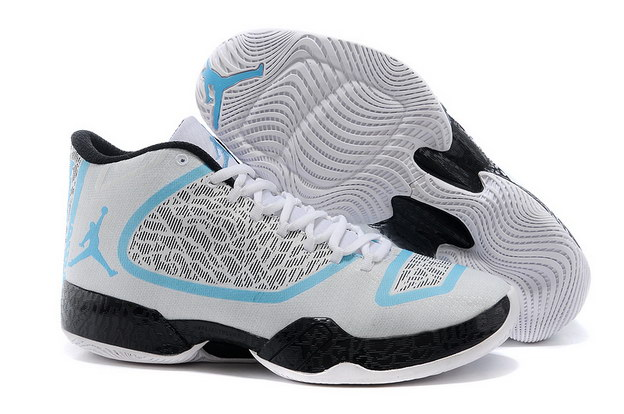 Air Jordan XX9 Shoes white/gray cement/blue