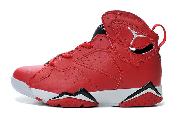 Air Jordan 7 Retro Shoes Real red/black white