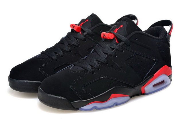 Air Jordan 6 Retro Low Shoes Infrared/black