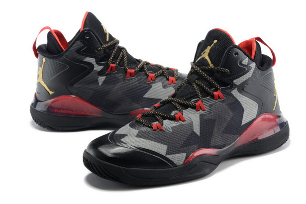JORDAN SUPER FLY Shoes Black/red