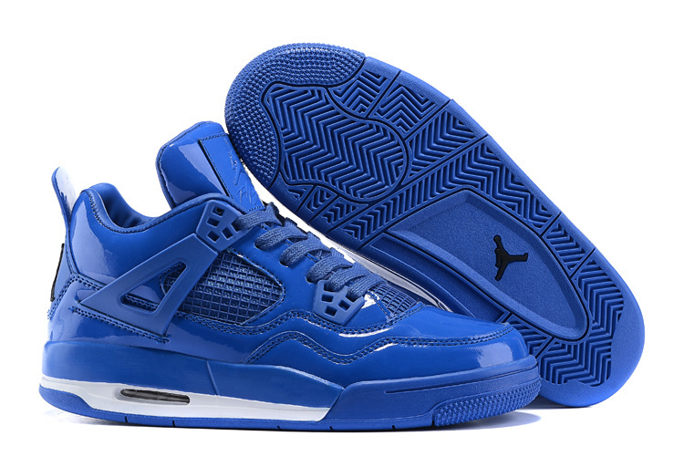 Air Jordan 4 11lab4 Shoes Blue/white