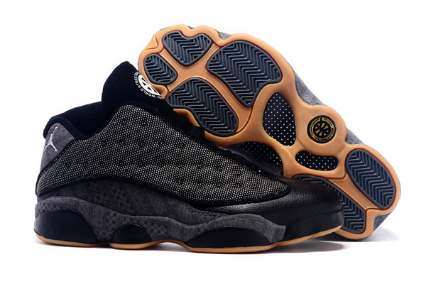Air Jordan 13 QUAI 54 Shoes Black/Khaki