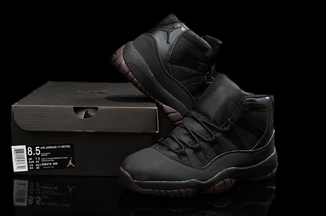 Air Jordan 11 Retro Shoes All black