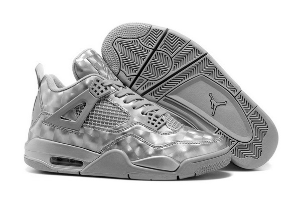 Air Jordan 4 3D Matrix Shoes Cool grey