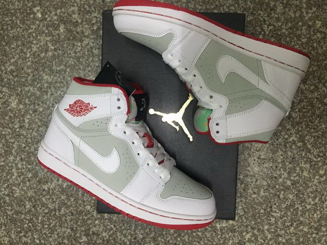 "Air Jordan 1 ""Bugs Bunny"" Shoes white/grey red"