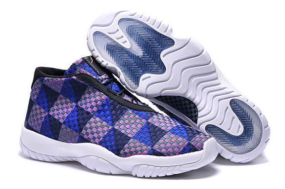 Air Jordan Future Mens Shoe Blue/white black