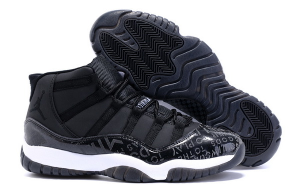 Air Jordan XI 11 Retro Shoes Black/white