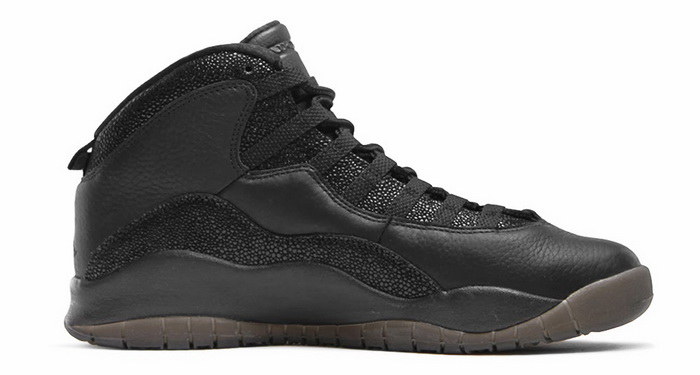 "Black ""OVO"" Air Jordan 10s Shoes Black"