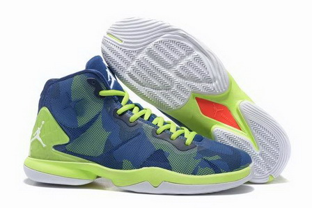 Air Jordan Fly 4 IV Shoes Blue/green