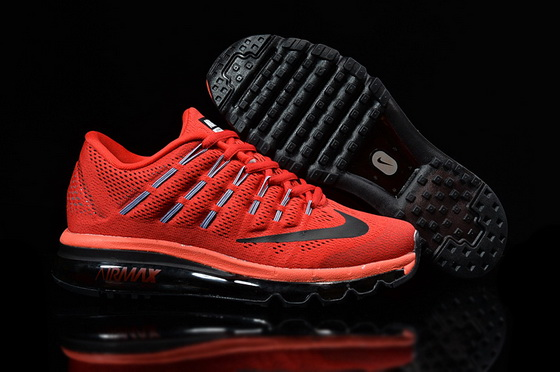 "Air Max 2016 ""Running"" Shoes Red/black"