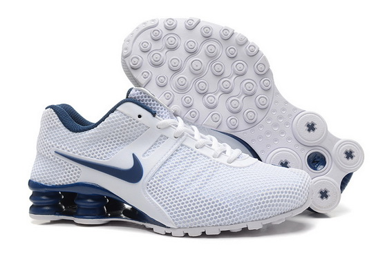 Men's Shox Shoes White/blue