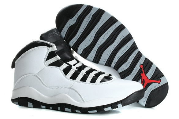 "Air Jordan 10 Retro ""Size 15 16"" Shoes White/black gray"