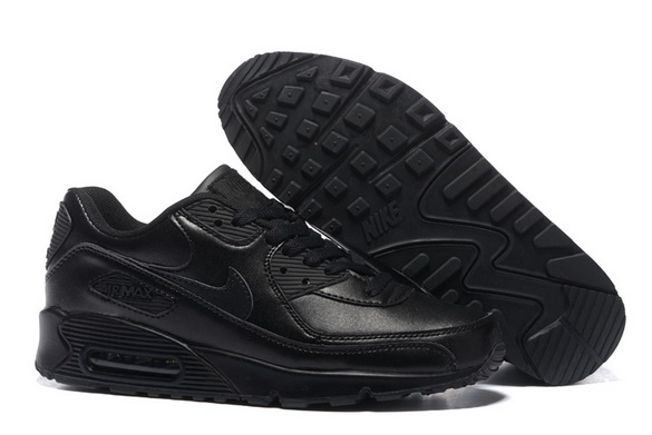Men's Air Max 90 Shoes All Black