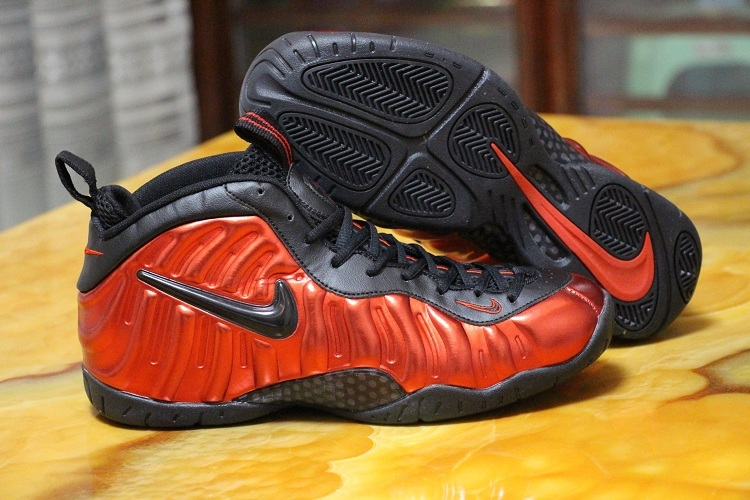 AIR FOAMPOSITE ONE PRM Shoes Red/black