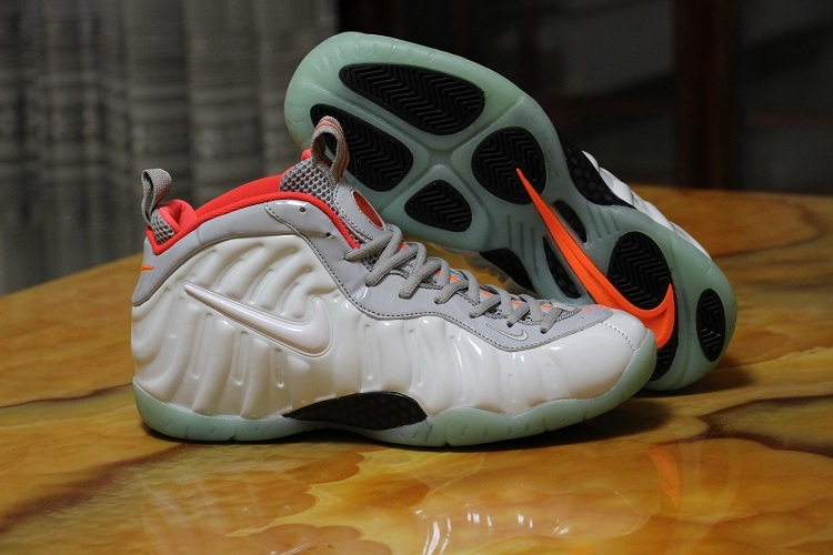 AIR FOAMPOSITE ONE PRM Shoes White/red black