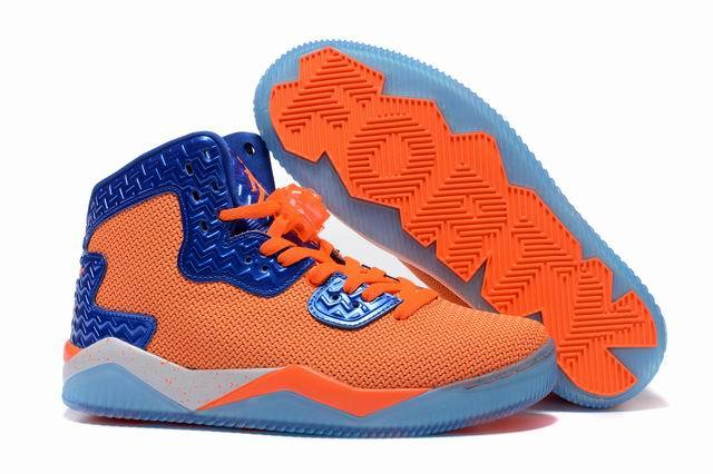 Jordan Spike 40 Shoes Orange/blue white