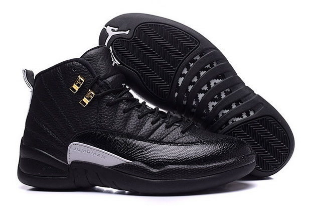 "Air Jordan 12 ""The Master"" Size 9 Shoes Black/Rattan White Metallic Gold"