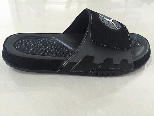 Air Jordan 9 Slipper Shoes All Black