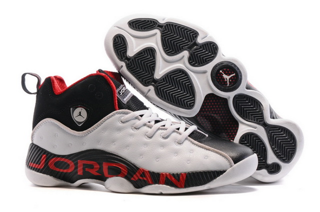Jordan Jumpman Team 2 II Shoes White/Black Varsity Red