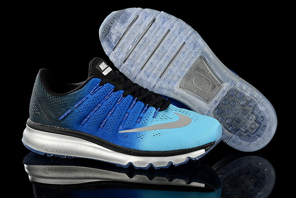 Men's Air Max 2016 Shoes Blue/Black gray
