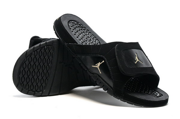 Air Jordan 12 Slippers Shoes Black/