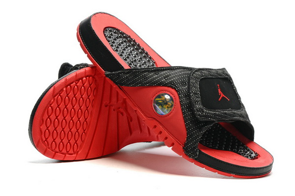 Jordan 13 slipper Shoes Black/Red
