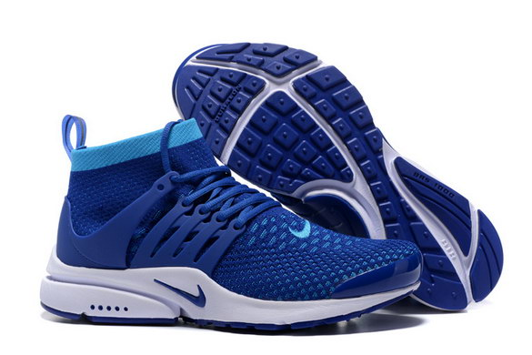 Air Presto Ultra Flyknit Shoes True Blue/White