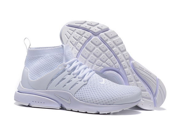 Air Presto Ultra Flyknit Shoes white