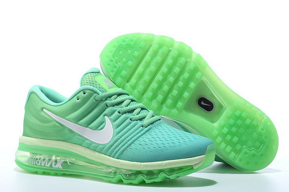 Air Max 2017 Running Shoes Green/White