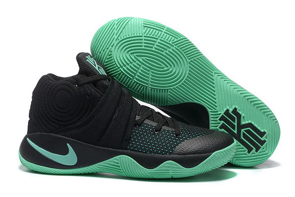 "Kyrie 2 ""Green Glow"" shoes Black/Green"