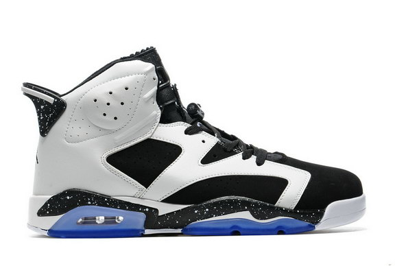 Air Jordan 6 Retro Shoes Oreo/White Black