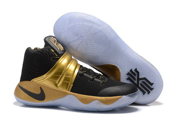"Kyrie 2 ""Champion"" Shoes Black/gold"